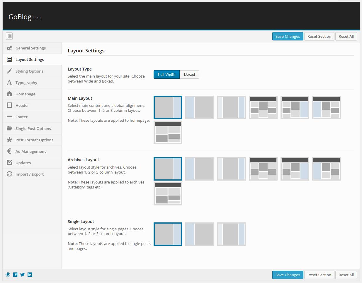 goblog-layout-settings